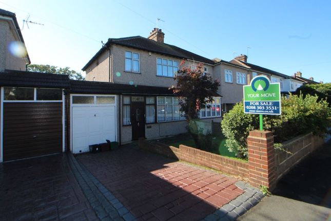 Thumbnail Semi-detached house for sale in Mount Road, Bexleyheath