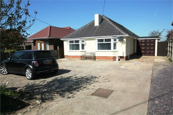 Thumbnail Detached bungalow for sale in Main Road, Great Holland, Frinton-On-Sea