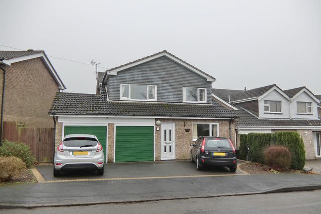 Thumbnail Detached house for sale in Dauphine Close, Coalville, Leicestershire