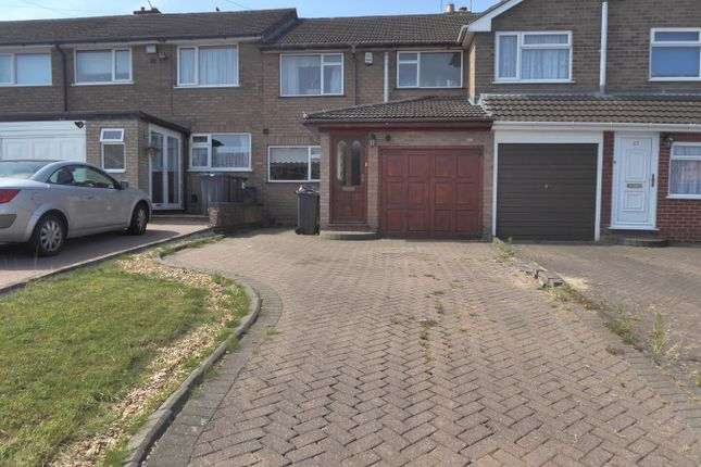 Thumbnail Terraced house for sale in The Crest, Birmingham