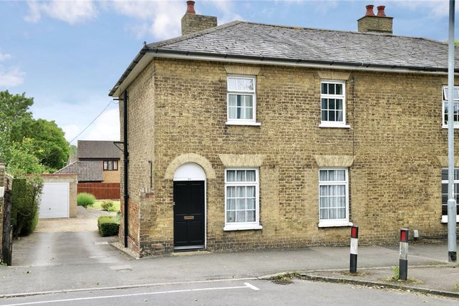 Thumbnail Semi-detached house for sale in Great North Road, Eaton Socon, St. Neots, Cambridgeshire