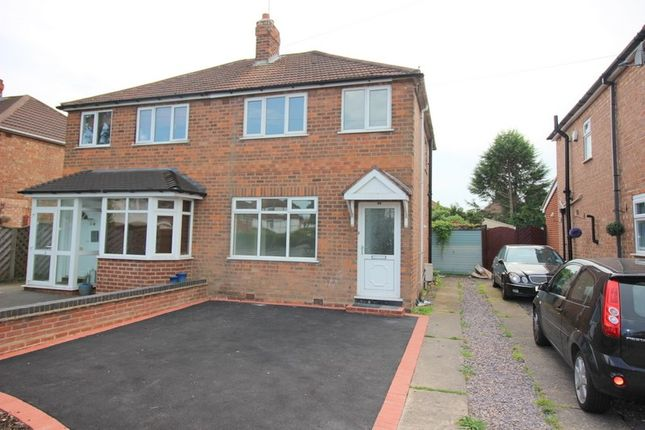Thumbnail Semi-detached house to rent in Chamberlain Crescent, Shirley, Solihull