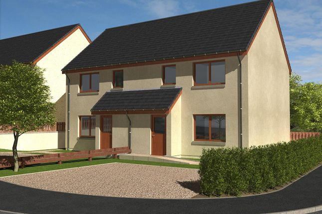 Thumbnail Semi-detached house for sale in The Bailey, North Broomlands, Kelso