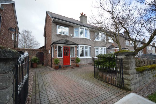Thumbnail Semi-detached house for sale in Princes Boulevard, Bebington, Wirral