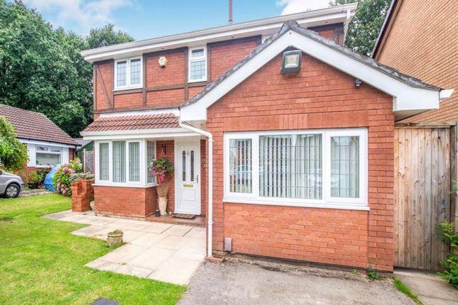 Thumbnail Detached house for sale in Quintbridge Close, Halewood, Liverpool