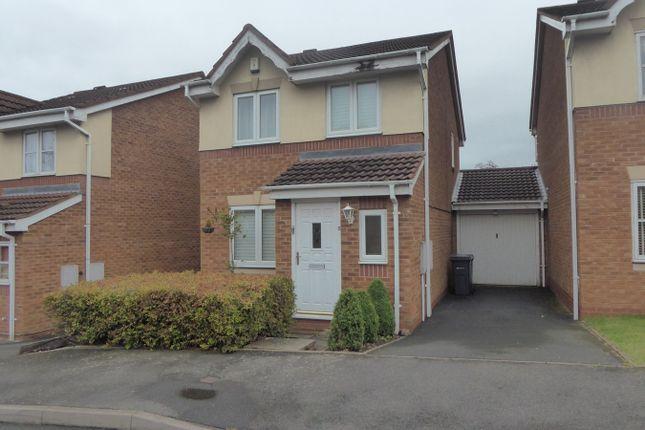 Thumbnail Link-detached house for sale in Little Meadow Croft, Northfield, Birmingham
