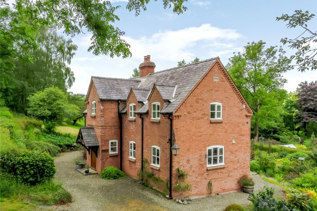 Thumbnail Detached house for sale in Lingen, Bucknell, Shropshire
