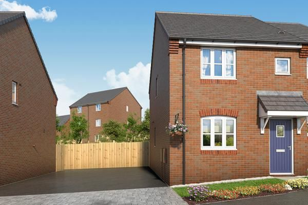 "Thumbnail Property for sale in ""The Meadowsweet At Mill Farm, Tibshelf"" at Mansfield Road, Tibshelf, Alfreton"