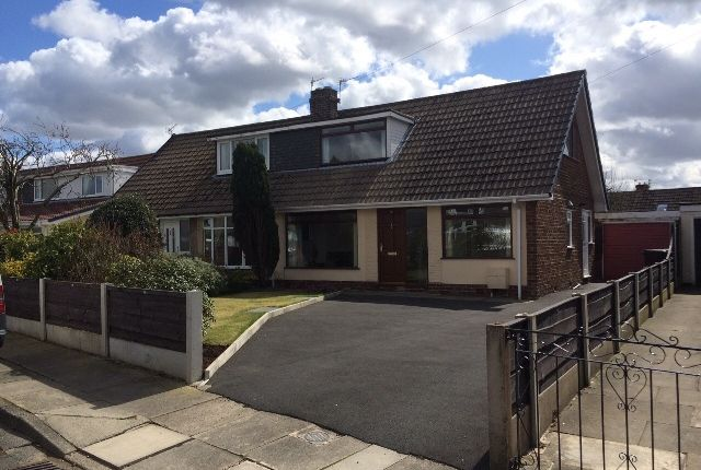 Thumbnail Semi-detached bungalow to rent in Pennine Close, Bury