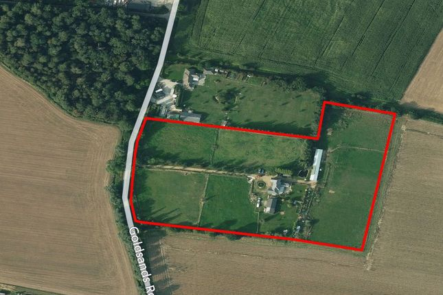 Thumbnail Equestrian property for sale in Goldsands Road, Southminster, Essex CM0, Essex,