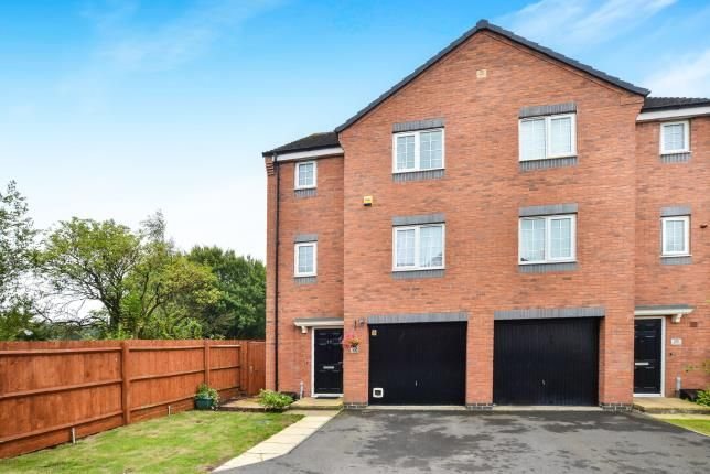 Thumbnail End terrace house for sale in Bellamy Drive, Kirkby-In-Ashfield, Nottingham, Nottinghamshire