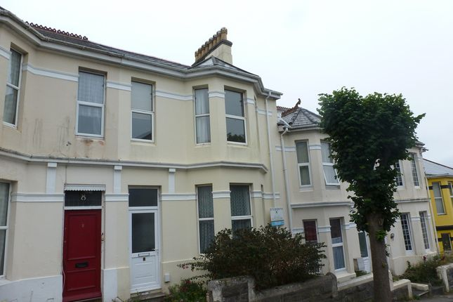 Thumbnail Terraced house for sale in Pentyre Terrace, Plymouth
