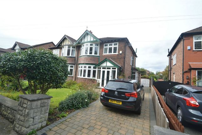 Thumbnail Semi-detached house for sale in Woodsmoor Lane, Stockport, Cheshire