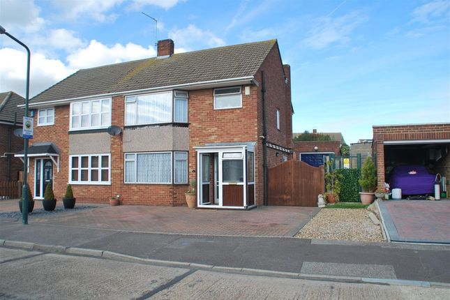 Thumbnail Semi-detached house for sale in Newitt Road, Hoo, Rochester