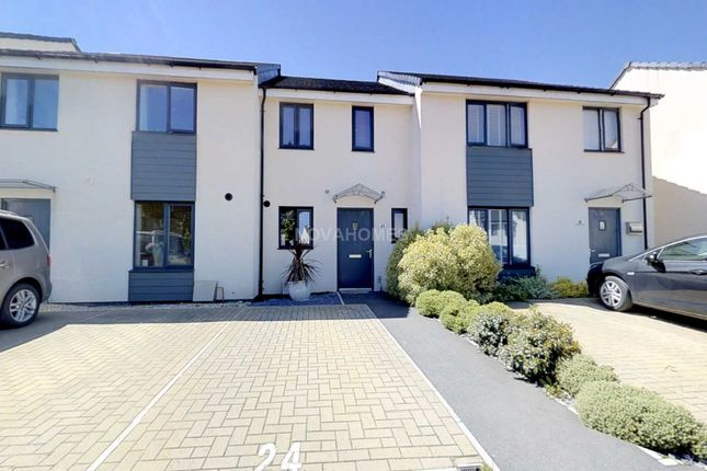 Thumbnail Terraced house for sale in Harlyn Drive, Pennycross
