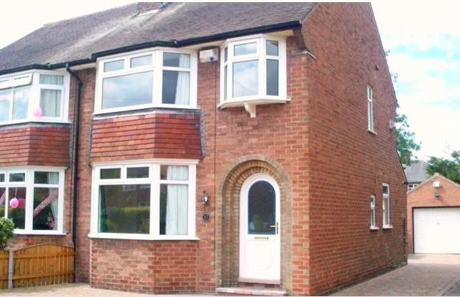 Thumbnail Semi-detached house to rent in Auckland Avenue, Hull