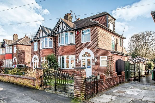 Thumbnail Semi-detached house for sale in Brackley Road, Heaton Chapel, Stockport
