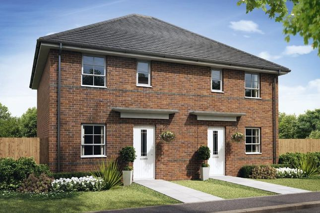 """Thumbnail Semi-detached house for sale in """"Folkestone"""" at Pye Green Road, Hednesford, Cannock"""