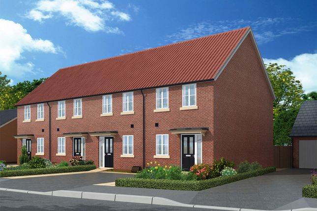 "Thumbnail Terraced house for sale in ""The Warwick"" at Showground Road, Malton"