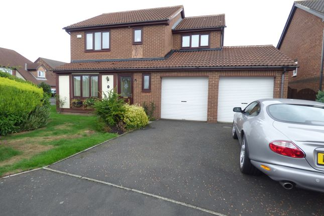 Thumbnail Detached house for sale in Greenhaugh, West Moor, Newcastle Upon Tyne