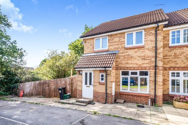 Thumbnail End terrace house for sale in Tunbridge Way, Emersons Green, Bristol