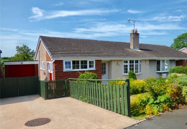 Thumbnail Semi-detached bungalow for sale in Barrowmoor Road, Appleby-In-Westmorland, Cumbria
