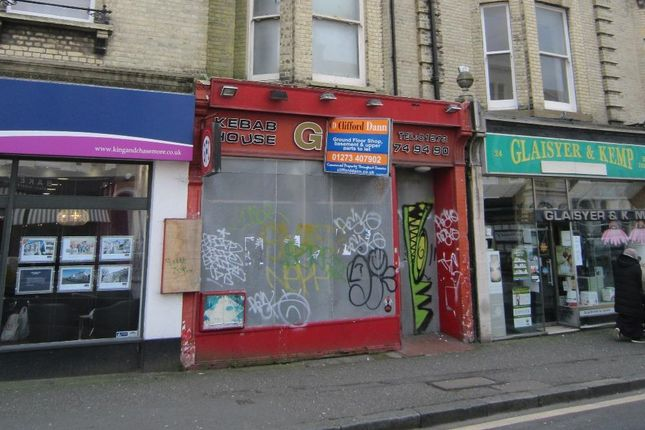 Thumbnail Retail premises for sale in 22, Church Road, Hove, East Sussex