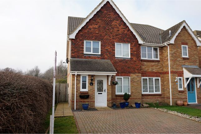 Thumbnail Semi-detached house for sale in Oakham Drive, Romney Marsh