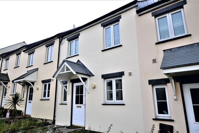 Thumbnail Terraced house to rent in 9 Talvenydh Court, Dennison Road, Bodmin