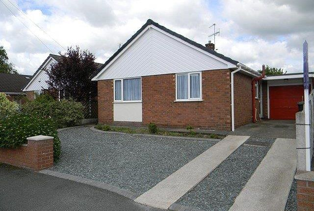 Thumbnail Bungalow to rent in Stancliffe Avenue, Marford, Wrexham
