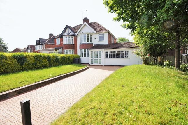 Thumbnail Semi-detached house for sale in Swanshurst Lane, Moseley, Birmingham