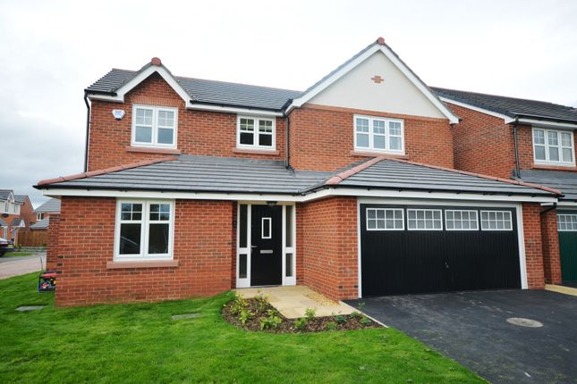 Thumbnail Detached house to rent in Garrison Close, Saighton, Chester