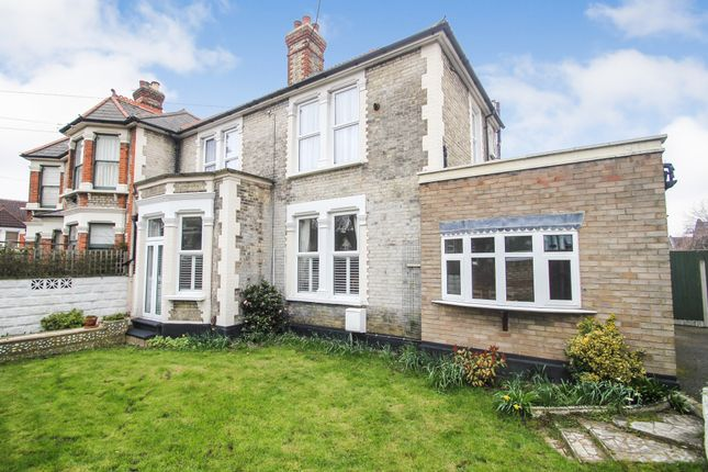 Thumbnail Semi-detached house for sale in Chadwick Road, Upper Leytonstone, London