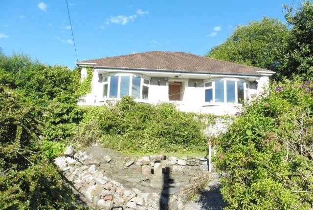 Thumbnail Detached bungalow for sale in Vaynor Lane, Cefn Coed, Merthyr Tydfil