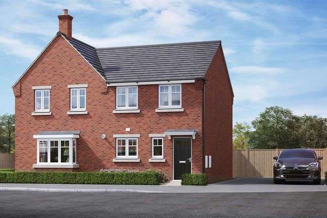 """3 bed property for sale in """"The Cornflower"""" at Thorley Drive, Cheadle, Stoke-On-Trent ST10"""