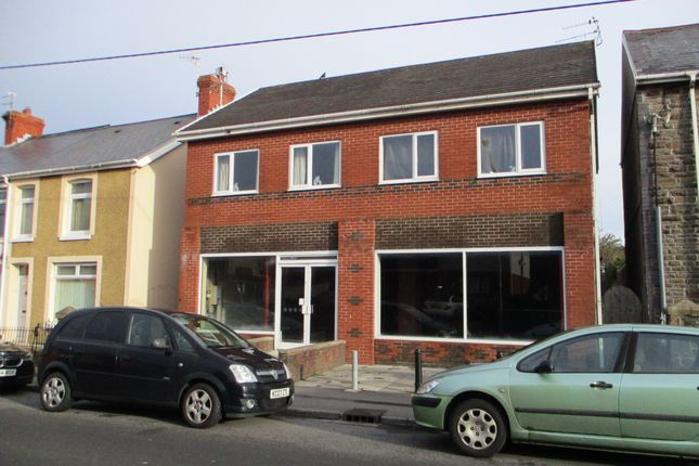 Thumbnail Retail premises to let in Ground Floor Retail/Business Unit, 45 Heol Fach, North Cornelly, Nr Pyle