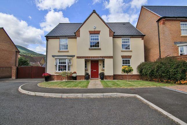 Thumbnail Detached house for sale in James Jones Close, Llanfoist, Abergavenny
