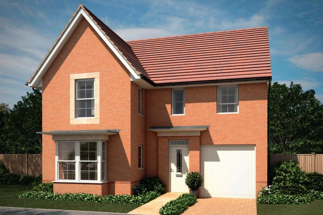 "Thumbnail Detached house for sale in ""Halstead"" at Park Hall Road, Mansfield Woodhouse, Mansfield"