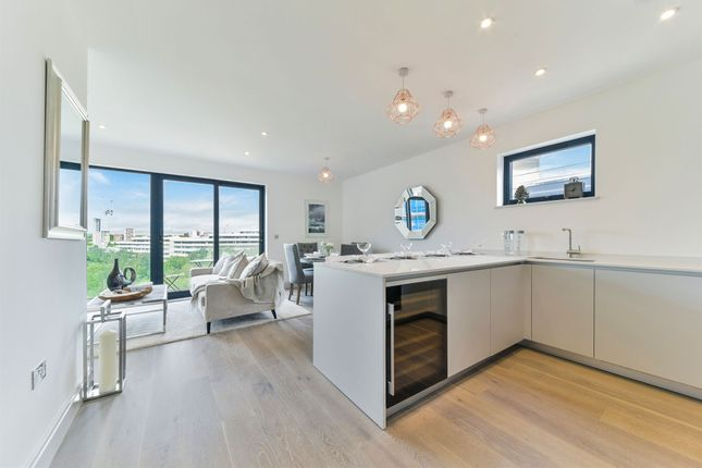 Thumbnail Penthouse for sale in Chiswick High Road, Chiswick, London