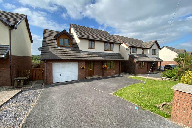 Thumbnail Detached house for sale in Crosshands Road, Gorslas, Gorslas, Carmarthenshire