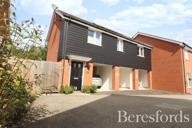 Thumbnail End terrace house for sale in The Croft, Little Canfield