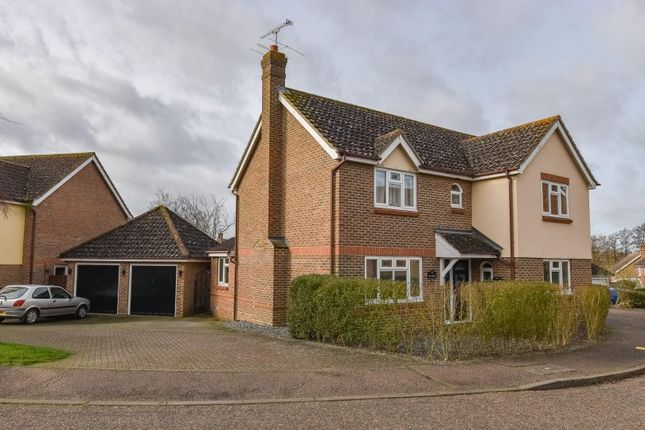 Detached house for sale in Marshalls Piece, Stebbing, Dunmow