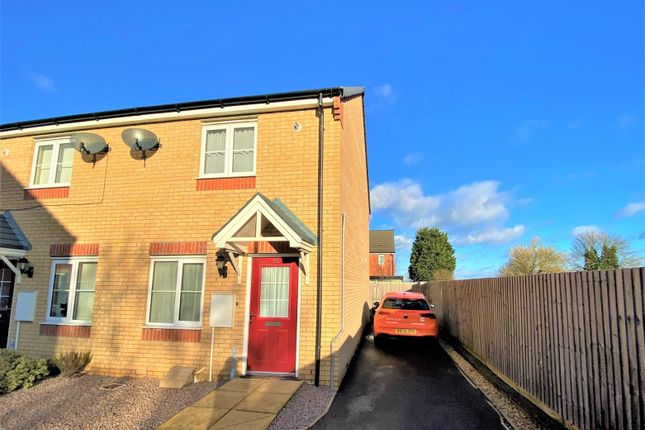 2 bed semi-detached house to rent in Brooklands Way, Bourne PE10