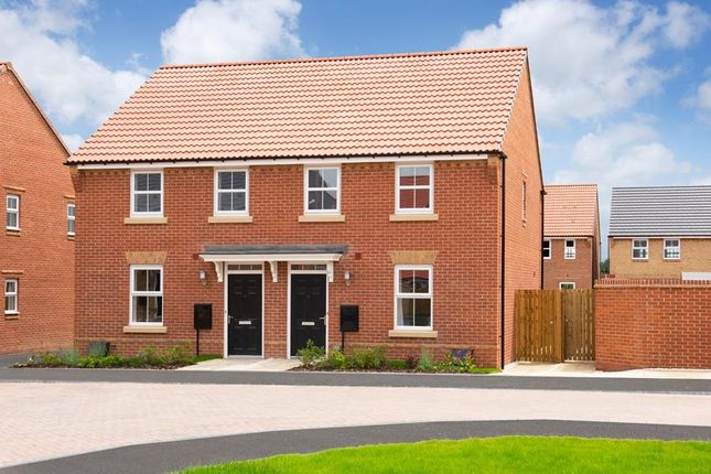 "Thumbnail Semi-detached house for sale in ""Washford"" at Bearscroft Lane, London Road, Godmanchester, Huntingdon"