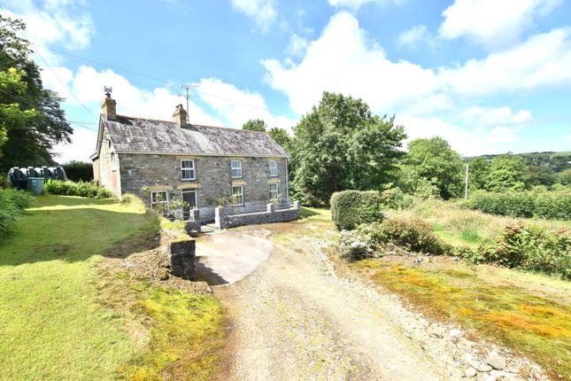 Thumbnail Farm for sale in Cwrtnewydd, Llanybydder, Ceredigion, 9Yn