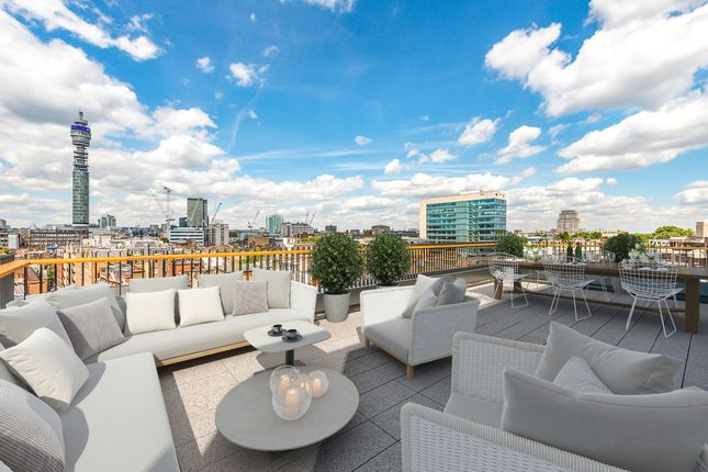 Thumbnail Flat for sale in Rathbone Square, W1, London