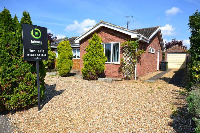 Thumbnail Detached bungalow for sale in Jubilee Drive, Dersingham, King's Lynn