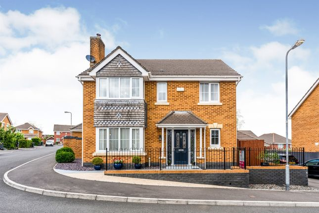 Thumbnail Detached house for sale in Murrel Close, Culverhouse Cross, Cardiff
