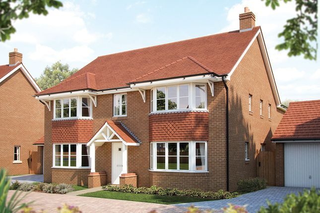 "Thumbnail Detached house for sale in ""The Ascot"" at Rusper Road, Ifield, Crawley"