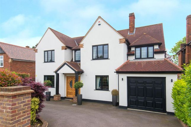 Thumbnail Detached house for sale in Chigwell Rise, Chigwell, Essex